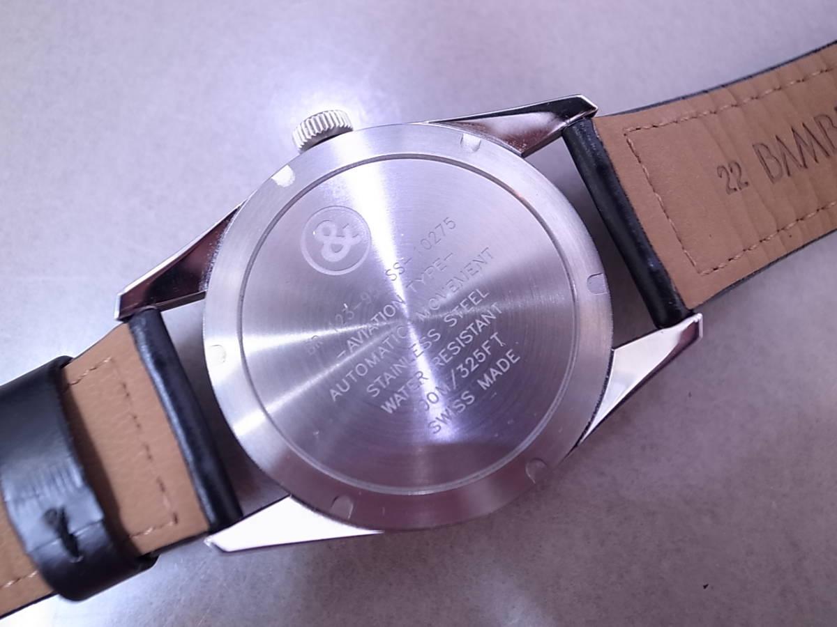 ◆◇ベル&ロス Bell&Ross V-BR123ORIG-BE-CA 自動巻き メンズ腕時計◇◆_画像4