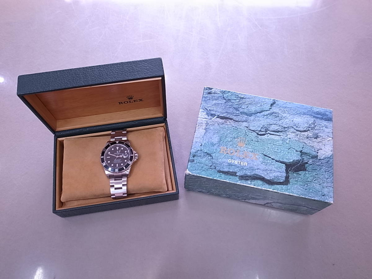 ◆◇ロレックス ROLEX サブマリーナ 16610 K番 自動巻き メンズ腕時計◇◆_画像1