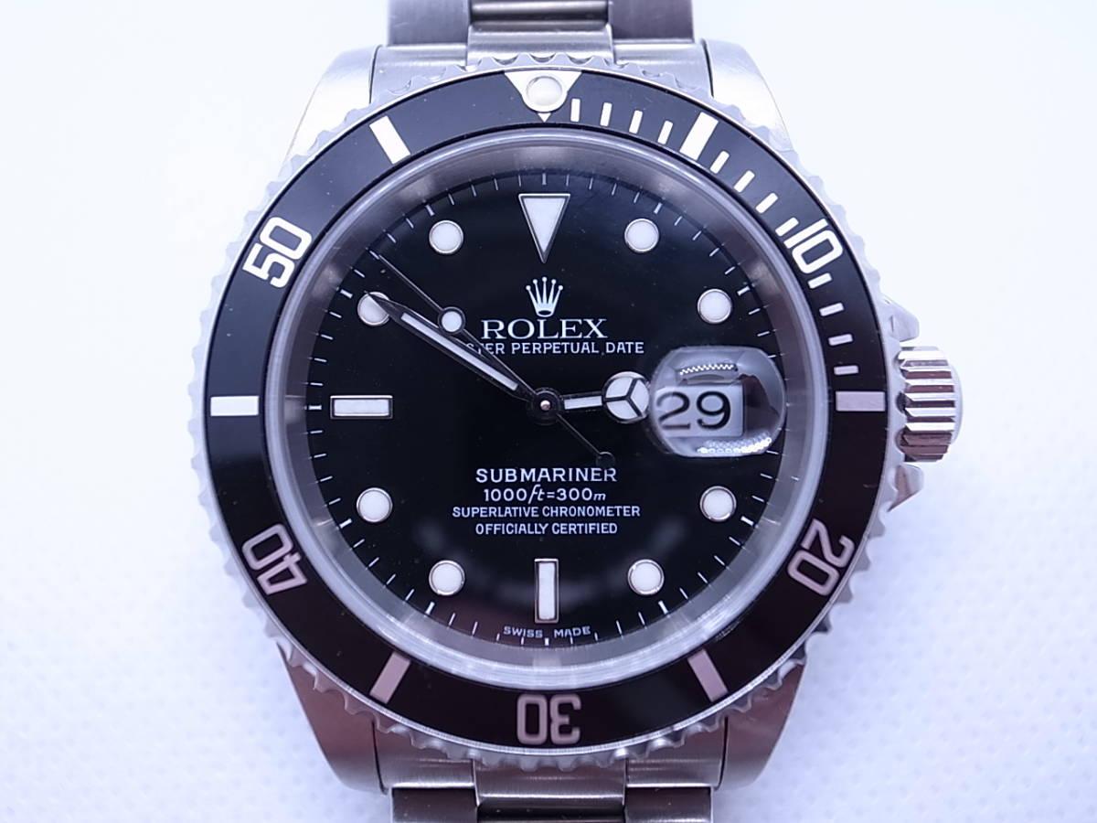 ◆◇ロレックス ROLEX サブマリーナ 16610 K番 自動巻き メンズ腕時計◇◆_画像2