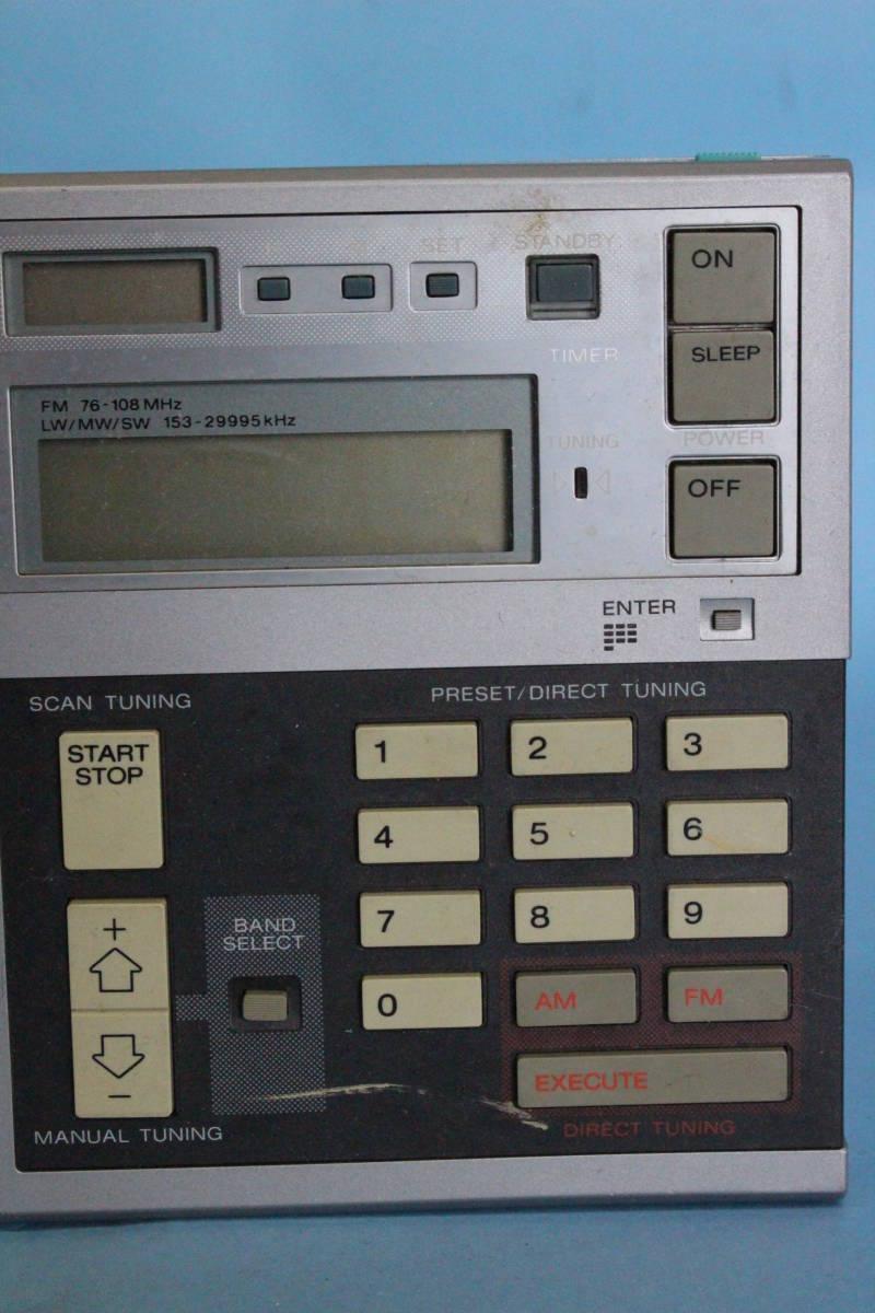 SONY ソニー ICF-7600D ラジオ (AM可 FM可 その他未チェック ジャンク)_画像3