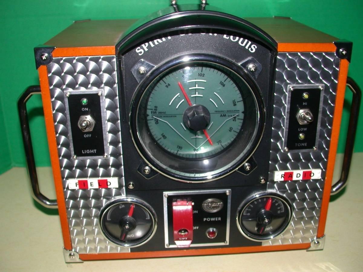 SPIRIT OF SAINT LOUIS モデルMARK II AM / FMラジオ 希少品