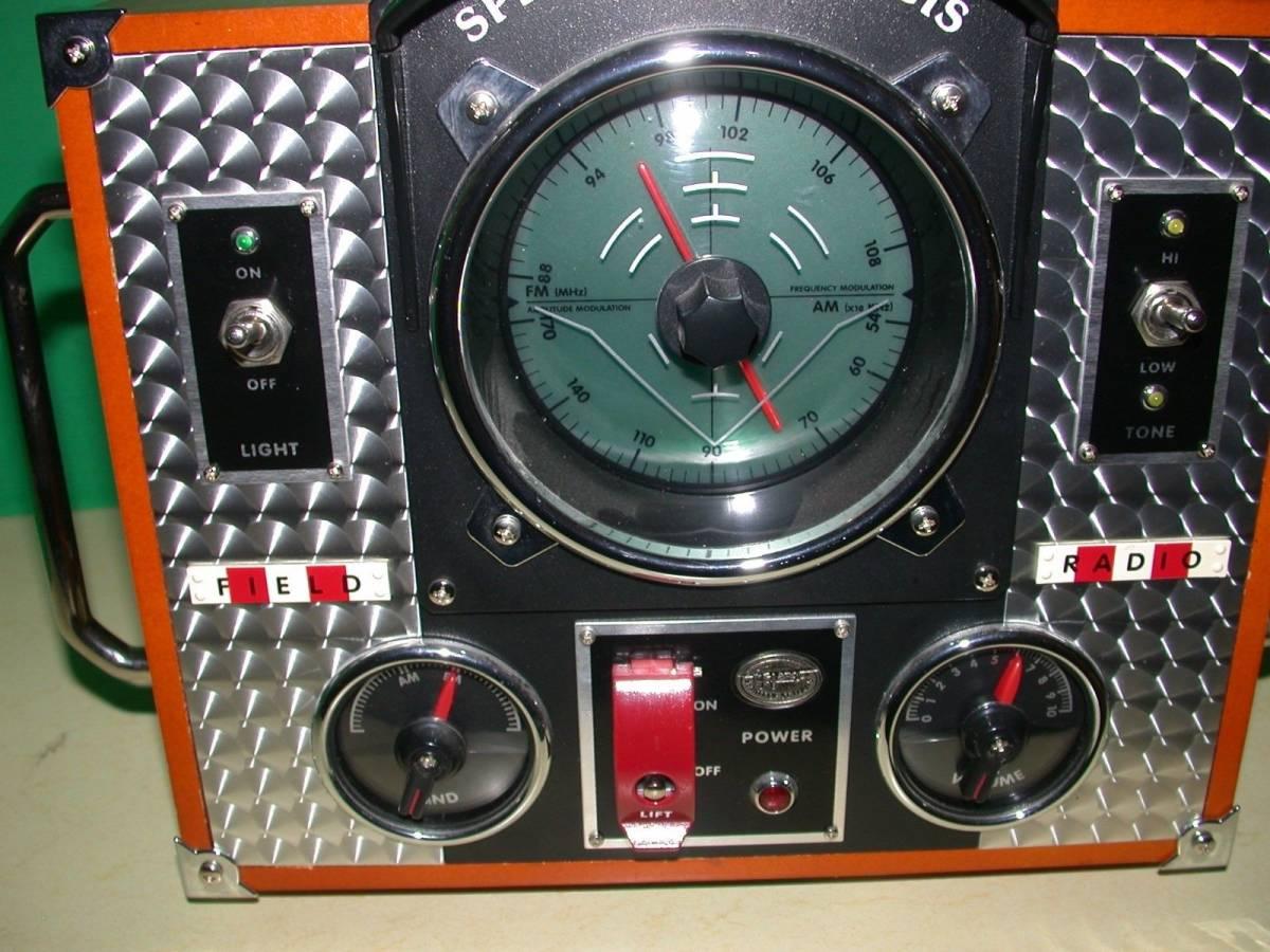 SPIRIT OF SAINT LOUIS モデルMARK II AM / FMラジオ 希少品_画像3