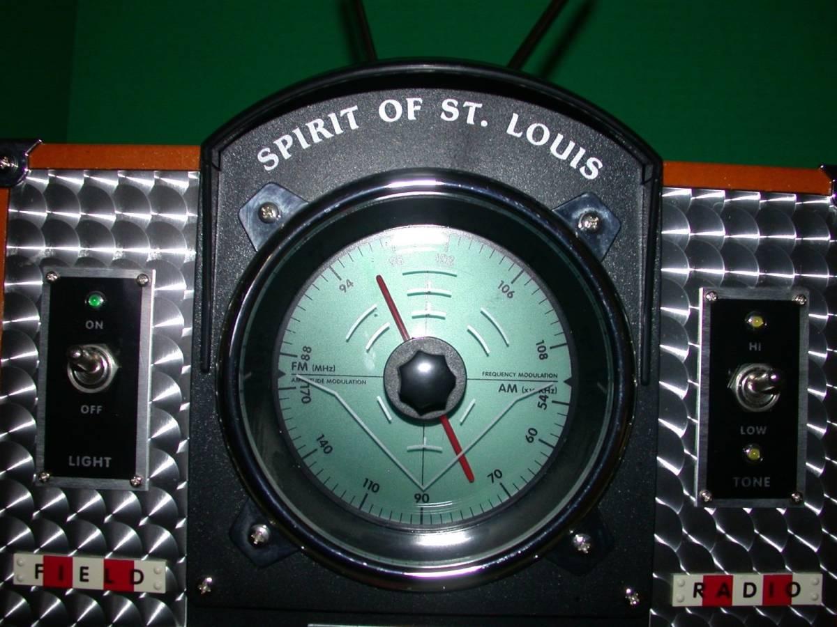 SPIRIT OF SAINT LOUIS モデルMARK II AM / FMラジオ 希少品_画像2