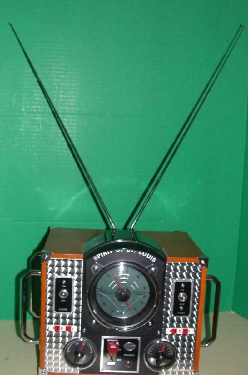SPIRIT OF SAINT LOUIS モデルMARK II AM / FMラジオ 希少品_画像5