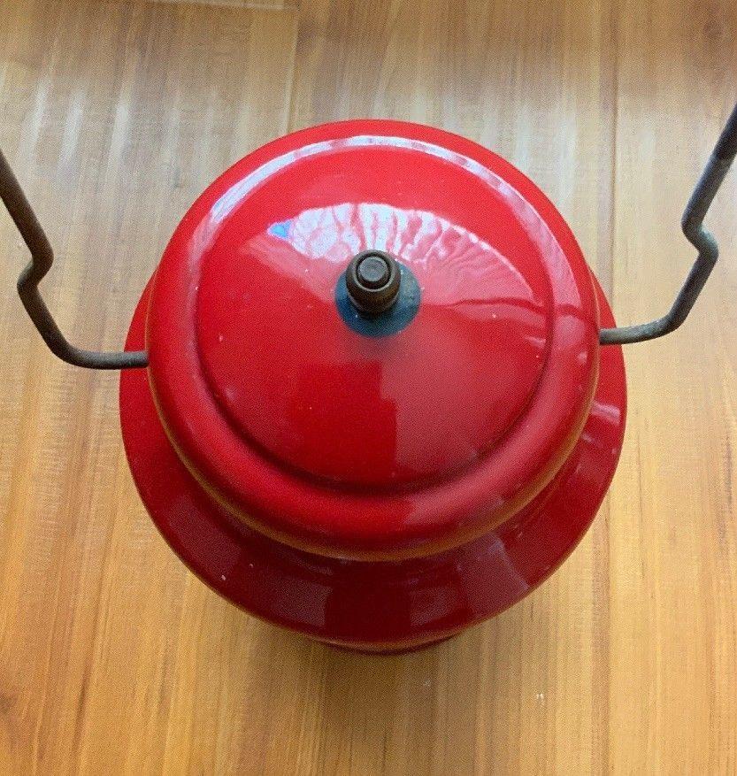 Coleman コールマン ランタン 赤 モデル200A アメリカ製 希少品_画像7