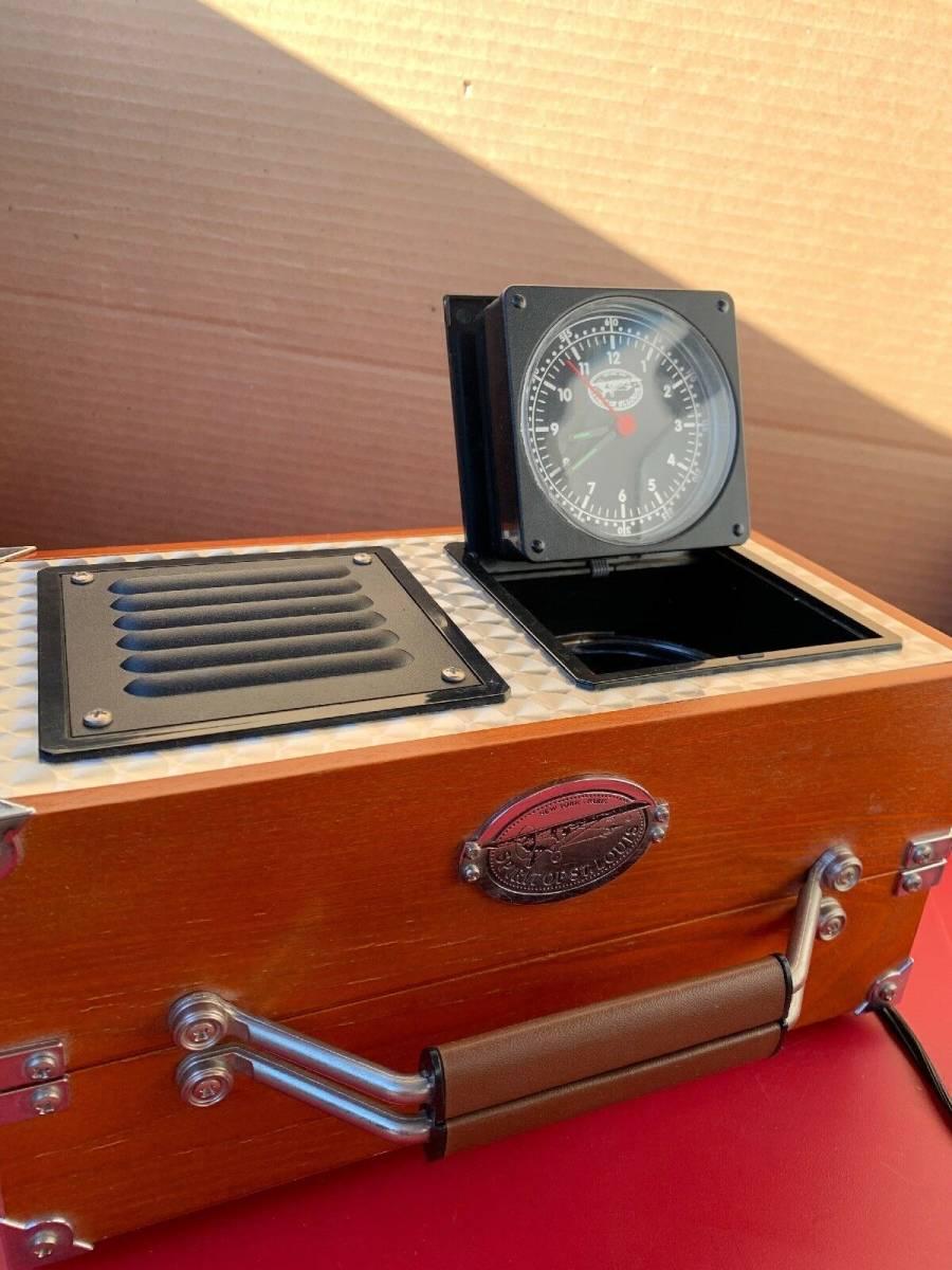 アラーム時計 ラジオ 時計 木製 FM/AM_画像5