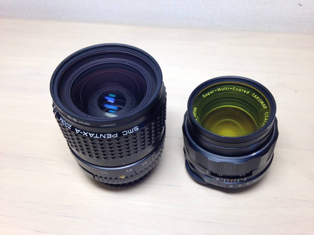 ①PENTAX  SPOTMATIC・ S2・レンズ (ジャンク)_画像8