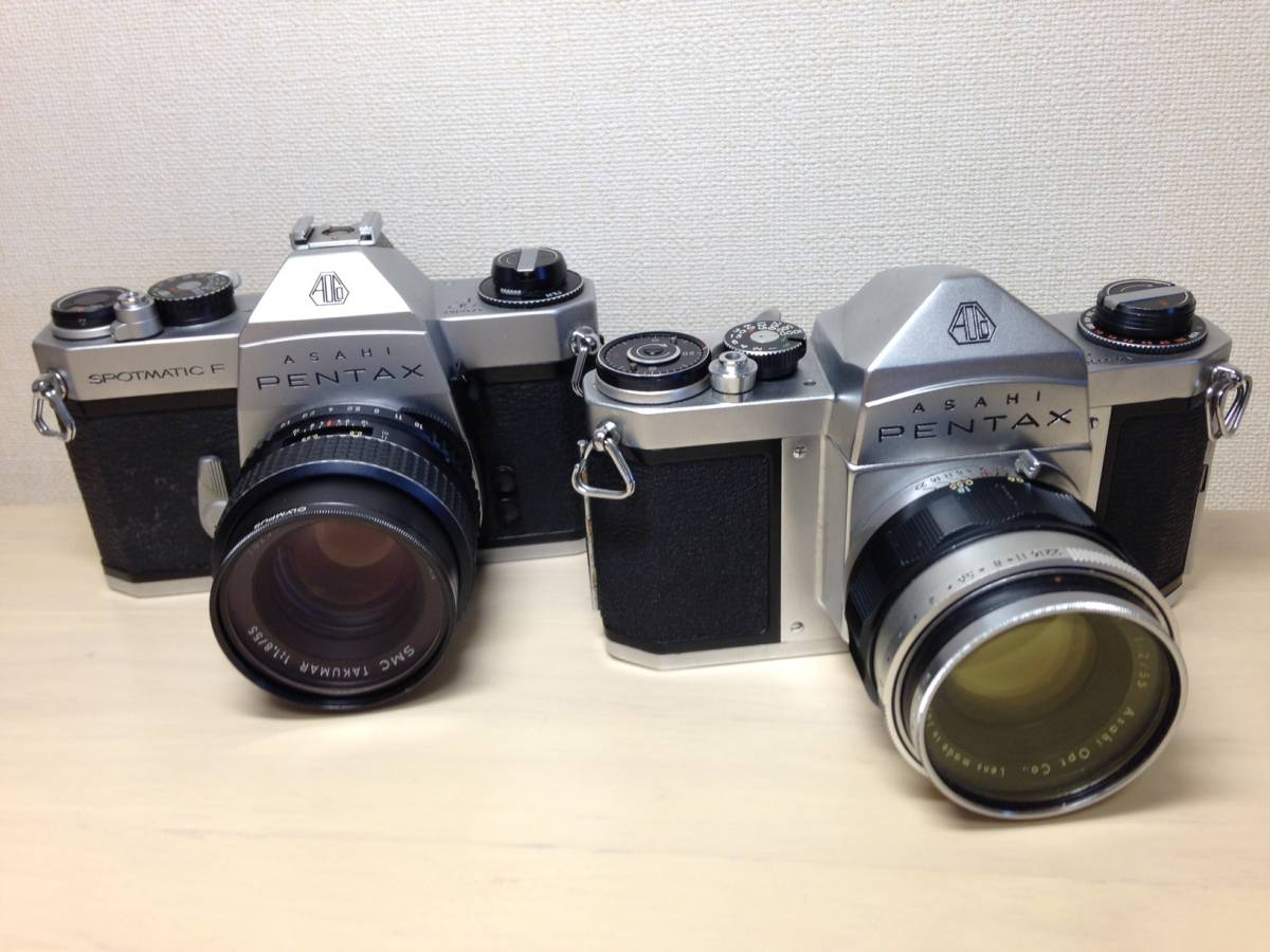 ①PENTAX  SPOTMATIC・ S2・レンズ (ジャンク)_画像3