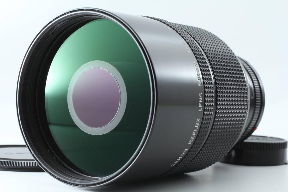 【希少品 超美品】 Canon キャノン new FD 500mm F8 reflex レンズ #376