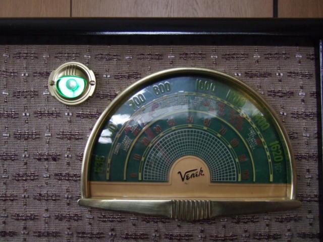 マジックアイ付標準5球スーパーラジオ(整備済み)-1_画像2