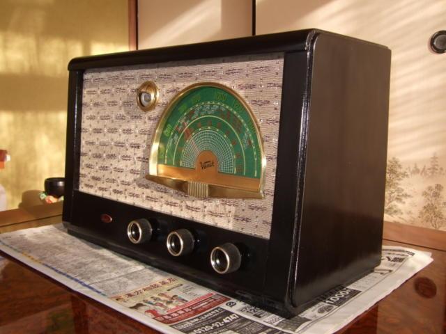 マジックアイ付標準5球スーパーラジオ(整備済み)-1_画像3