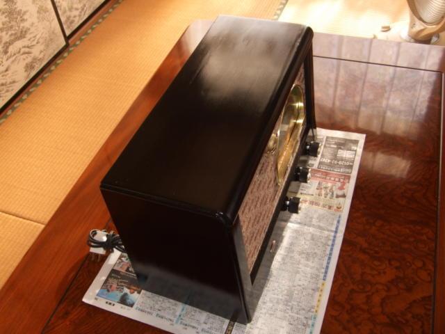 マジックアイ付標準5球スーパーラジオ(整備済み)-1_画像4
