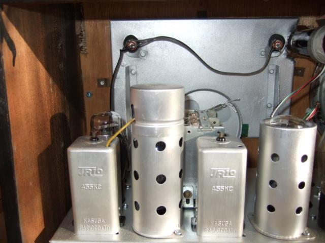 マジックアイ付標準5球スーパーラジオ(整備済み)-1_画像8