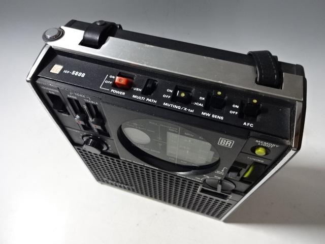 SONY ソニー スカイセンサーラジオ ICF-5600 _画像2