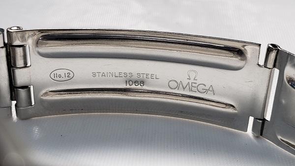 OMEGA オメガ コンステレーション クロノメーター デイト 自動巻き オートマ ドルフィン針 アンティーク Cal.564 純正ライスブレス 168.013_画像9