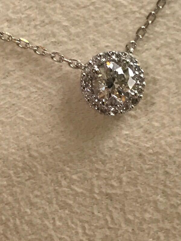 ヴァンドーム青山グレースネックレスpt850ダイヤ計0.38ct限定今だけ値下げ_画像5