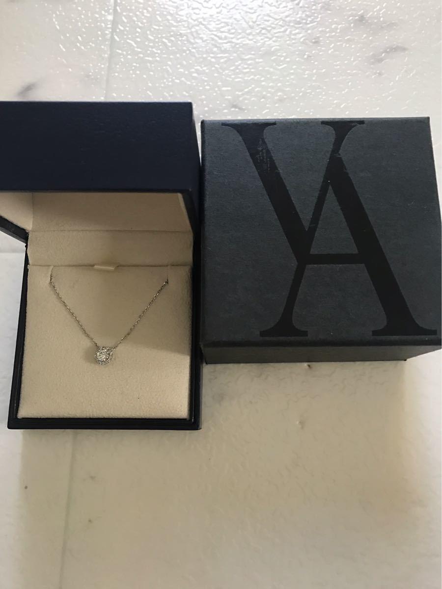 ヴァンドーム青山グレースネックレスpt850ダイヤ計0.38ct限定今だけ値下げ_画像2
