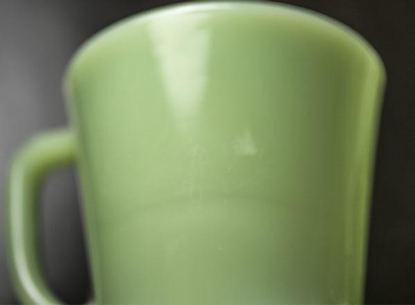 ファイヤーキング マグ ジェダイ Dハンドル 耐熱 ミルクグラス コーヒー アメリカ ビンテージ_画像6