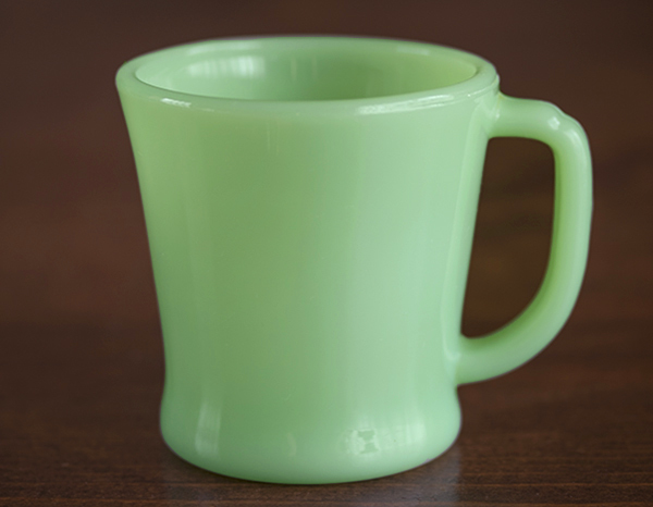 ファイヤーキング マグ ジェダイ Dハンドル 耐熱 ミルクグラス コーヒー ビンテージ アメリカ