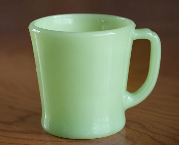 ファイヤーキング マグ ジェダイ Dハンドル 耐熱 ミルクグラス コーヒー アメリカ ビンテージ