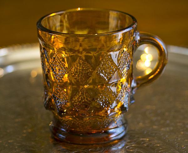 おすすめ! ファイヤーキング マグ キンバリー アンバー ミント! スタッキング 耐熱 コーヒー グラス カップ