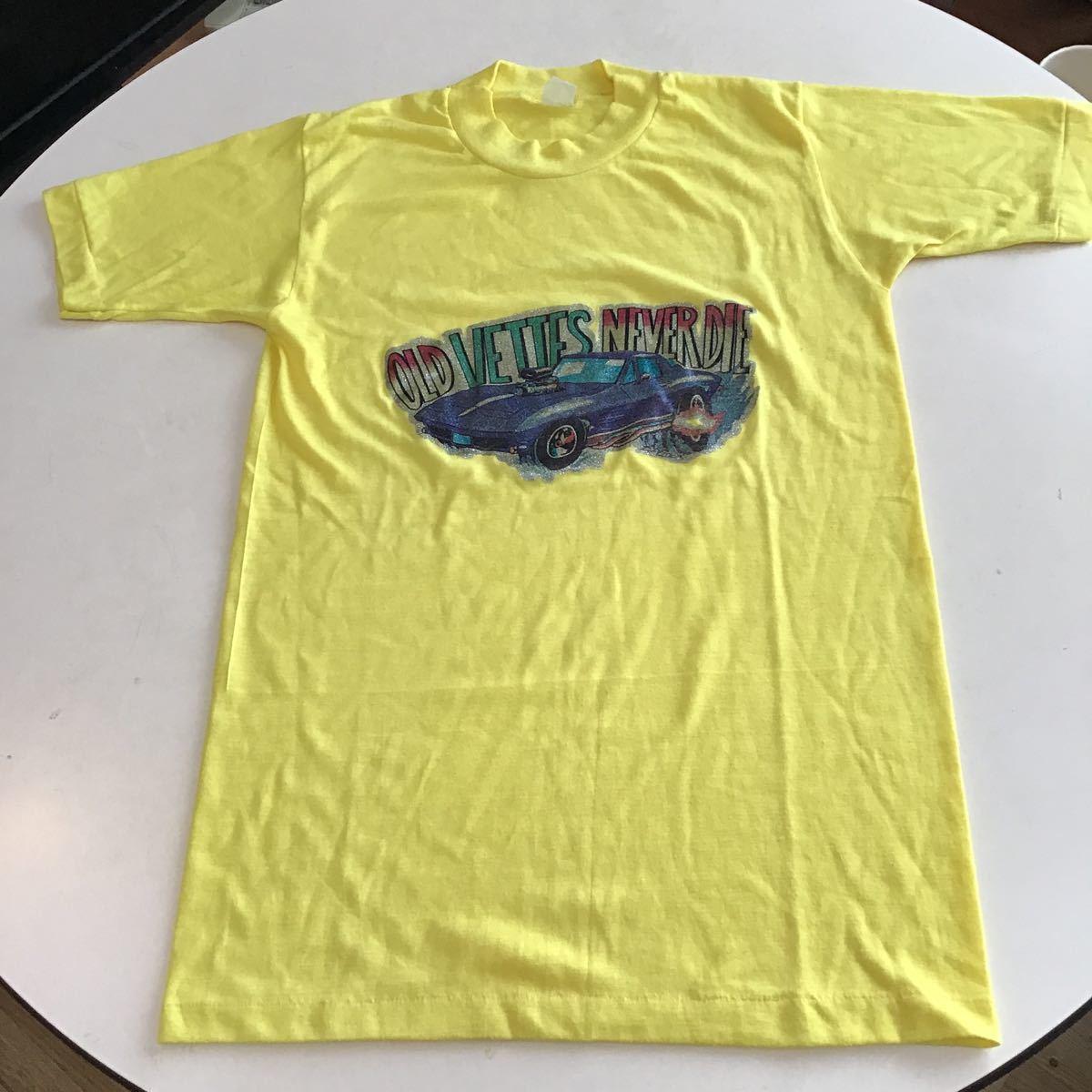 ビンテージプリントTシャツ古着アメカジUSAF&E70年代マイフリーダムアメ車_画像3
