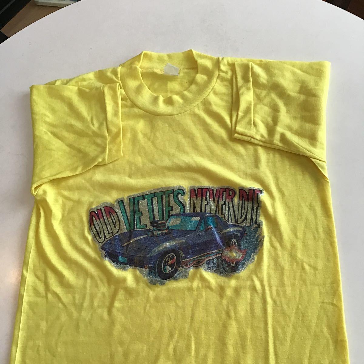 ビンテージプリントTシャツ古着アメカジUSAF&E70年代マイフリーダムアメ車_画像5