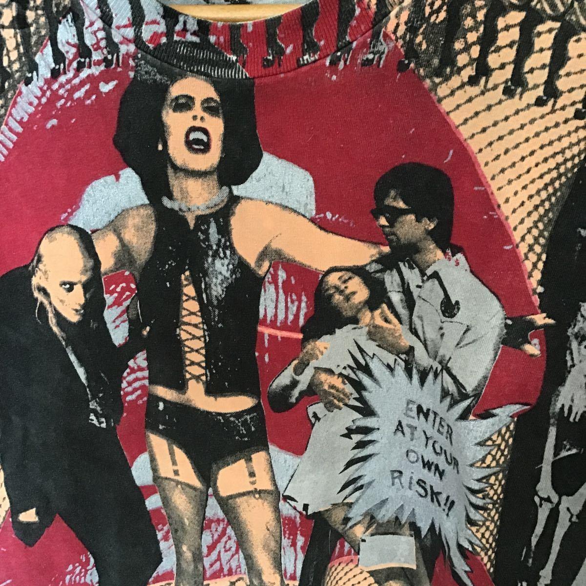 ビンテージロッキンホラーショー古着アメカジUSAマイフリーダムF&E映画70年代音楽フェスロック_画像1