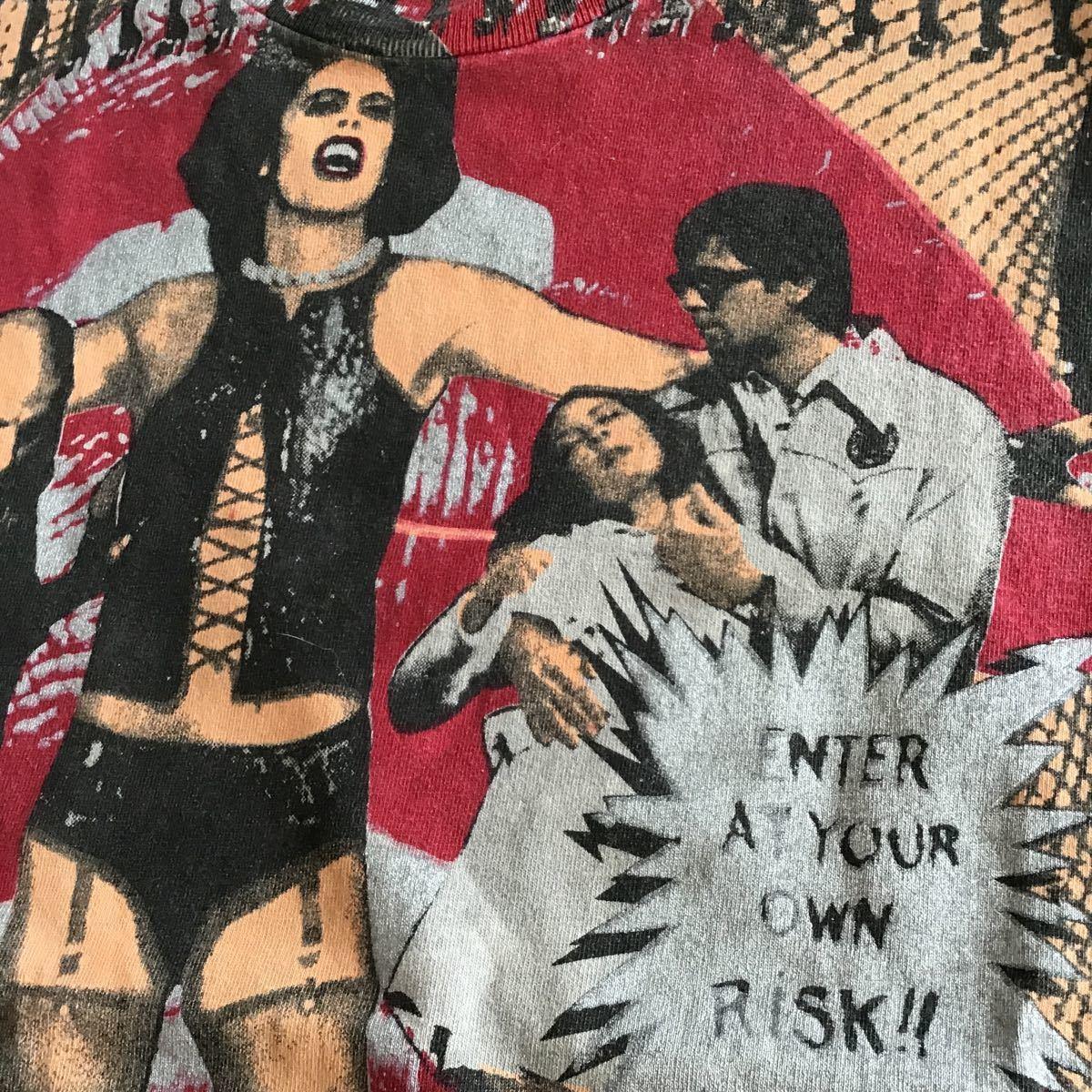 ビンテージロッキンホラーショー古着アメカジUSAマイフリーダムF&E映画70年代音楽フェスロック_画像9