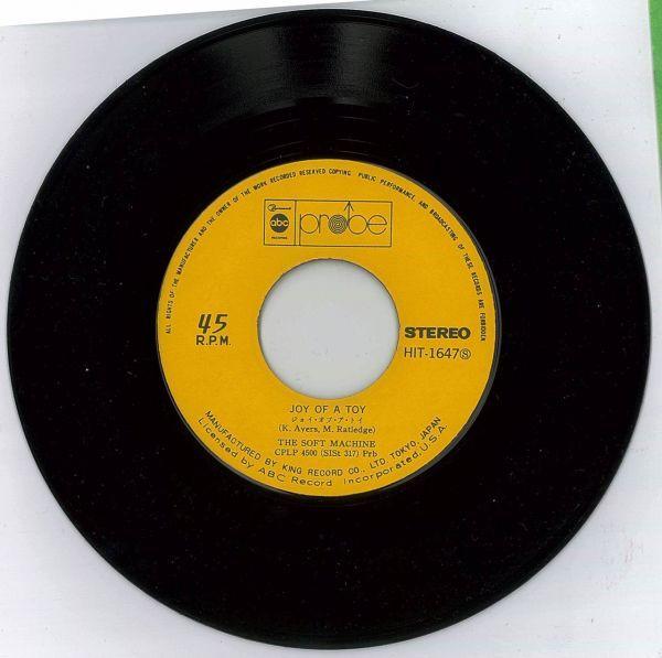ザ・ソフト・マシーン / スリーピング【国内盤EP】The Soft Machine / Why Are We Sleeping?_画像5