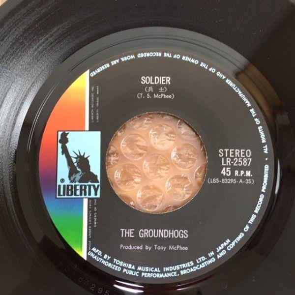 【国内初版】トニー・マクフィーとグランドホッグス / 兵士【EP】The Groundhogs / Soldier_画像6