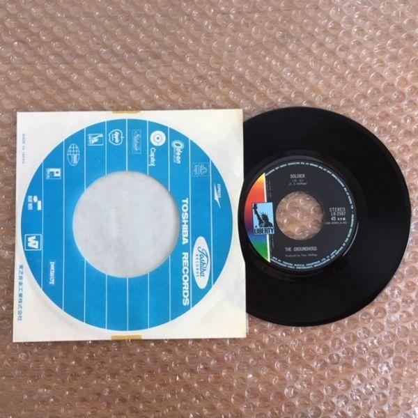 【国内初版】トニー・マクフィーとグランドホッグス / 兵士【EP】The Groundhogs / Soldier_画像5