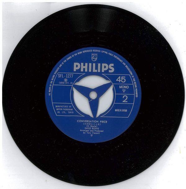 デビッド・ボゥイ / 冷たい炎【PHILIPS SFL-1277】David Bowie / Prettiest Star_画像4