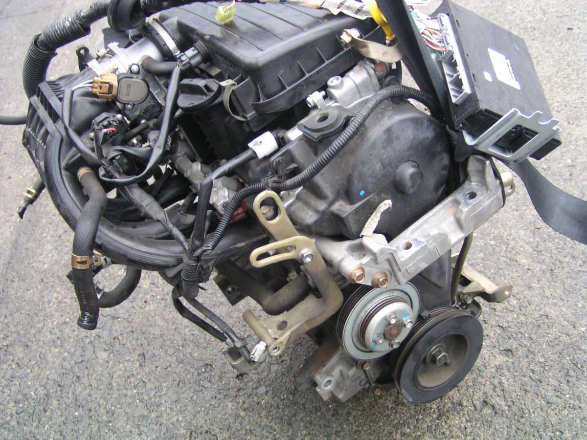 後期 ムーブ L150S EF-VE エンジン ハーネス コンピューター付き_画像3