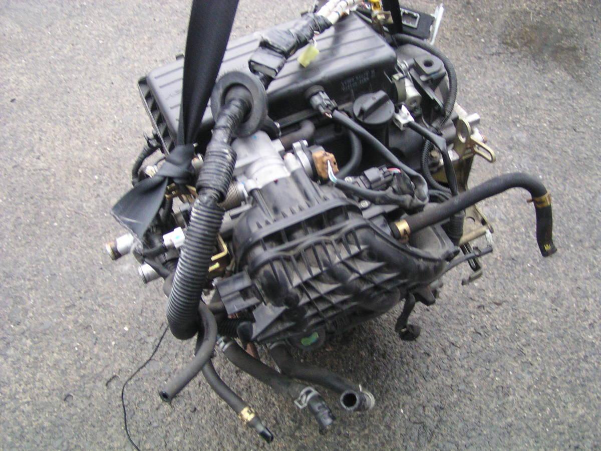後期 ムーブ L150S EF-VE エンジン ハーネス コンピューター付き_画像4