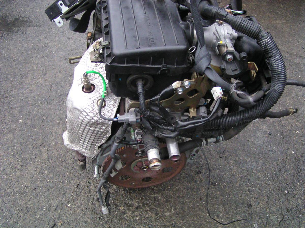後期 ムーブ L150S EF-VE エンジン ハーネス コンピューター付き_画像5