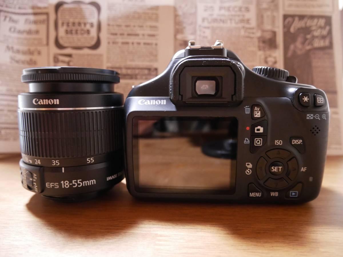 【1円スタート★】キヤノン キャノン Canon EOS kiss X50 ダブルズームキット デジタル一眼レフ 初心者にも