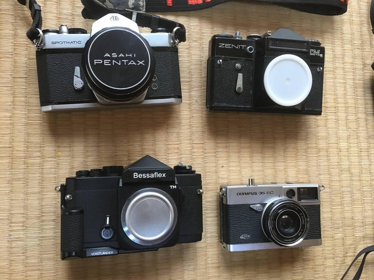 【現状・ジャンク】ペンタックスSP Bessaflex PEN F SX-70 ホルガ他 M42マウントカメラボディ レンズ 等 動作不良 動作未確認機含みます_画像2