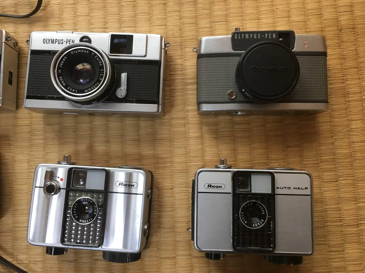 【現状・ジャンク】ペンタックスSP Bessaflex PEN F SX-70 ホルガ他 M42マウントカメラボディ レンズ 等 動作不良 動作未確認機含みます_画像4
