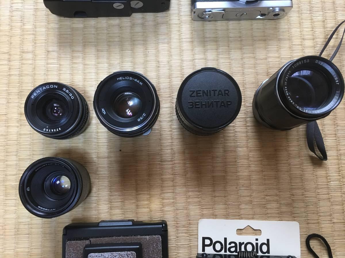 【現状・ジャンク】ペンタックスSP Bessaflex PEN F SX-70 ホルガ他 M42マウントカメラボディ レンズ 等 動作不良 動作未確認機含みます_画像7