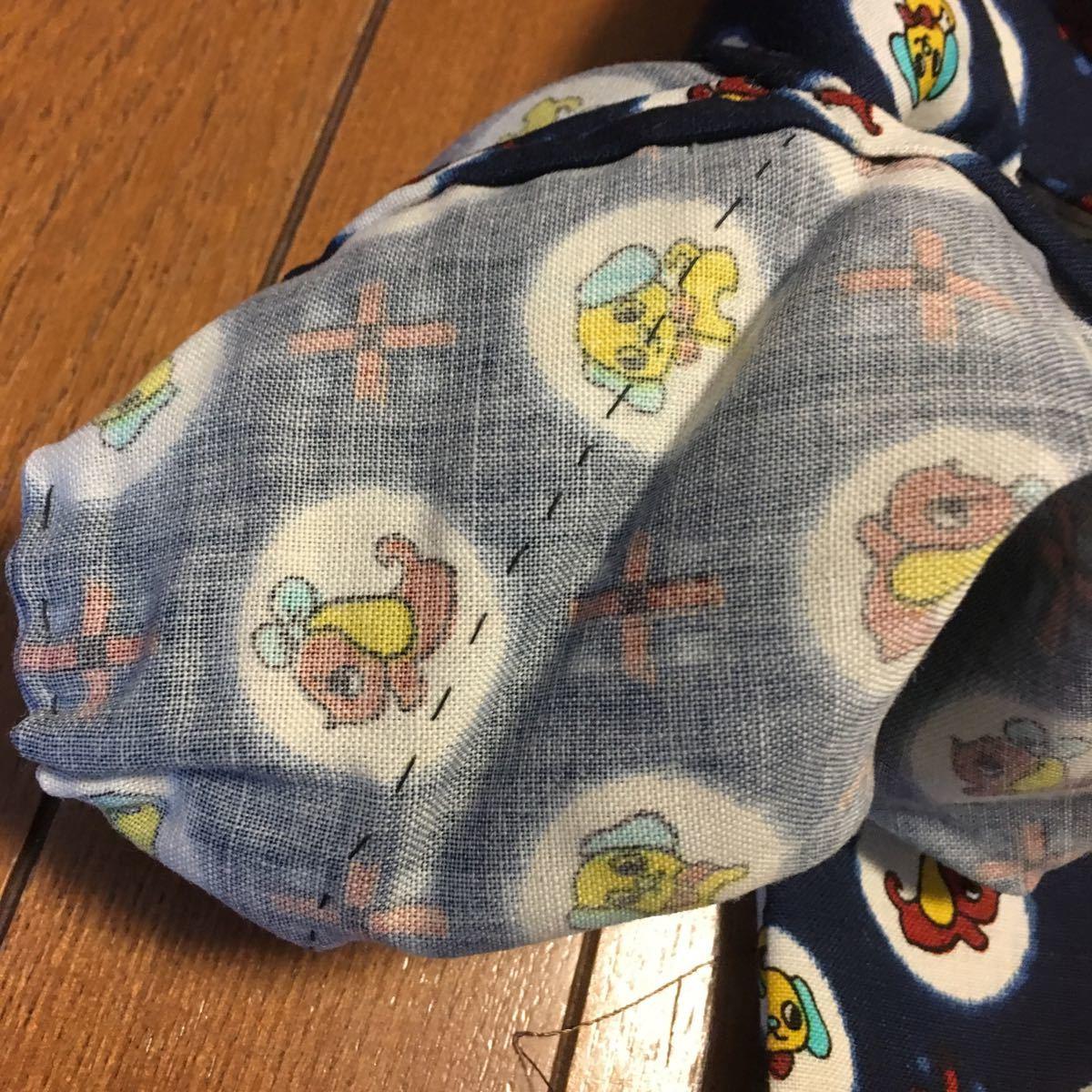 ☆昭和デッドストック☆レトロかわいい子ども用 着物 新品 1.2歳用 美品_画像9