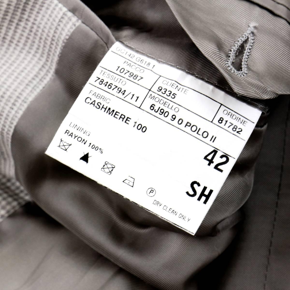 驚愕のカシミヤ100%◎!!! ラルフローレン 秋冬 イタリア製 最高級カシミヤ100%を贅沢に使用した!贅を極めた極上ジャケット 42 XL程度_画像8