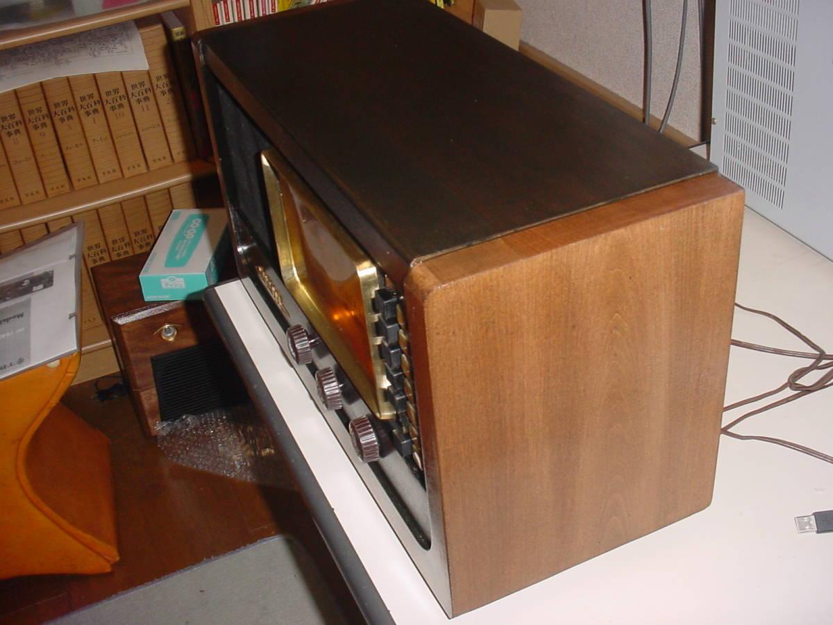 高機能 ゼネラル ST管5球スーパーラジオ 6S-B1 動作機  _画像3