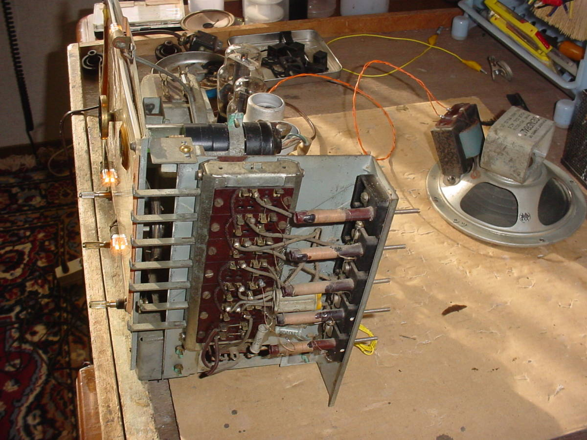 高機能 ゼネラル ST管5球スーパーラジオ 6S-B1 動作機  _画像7
