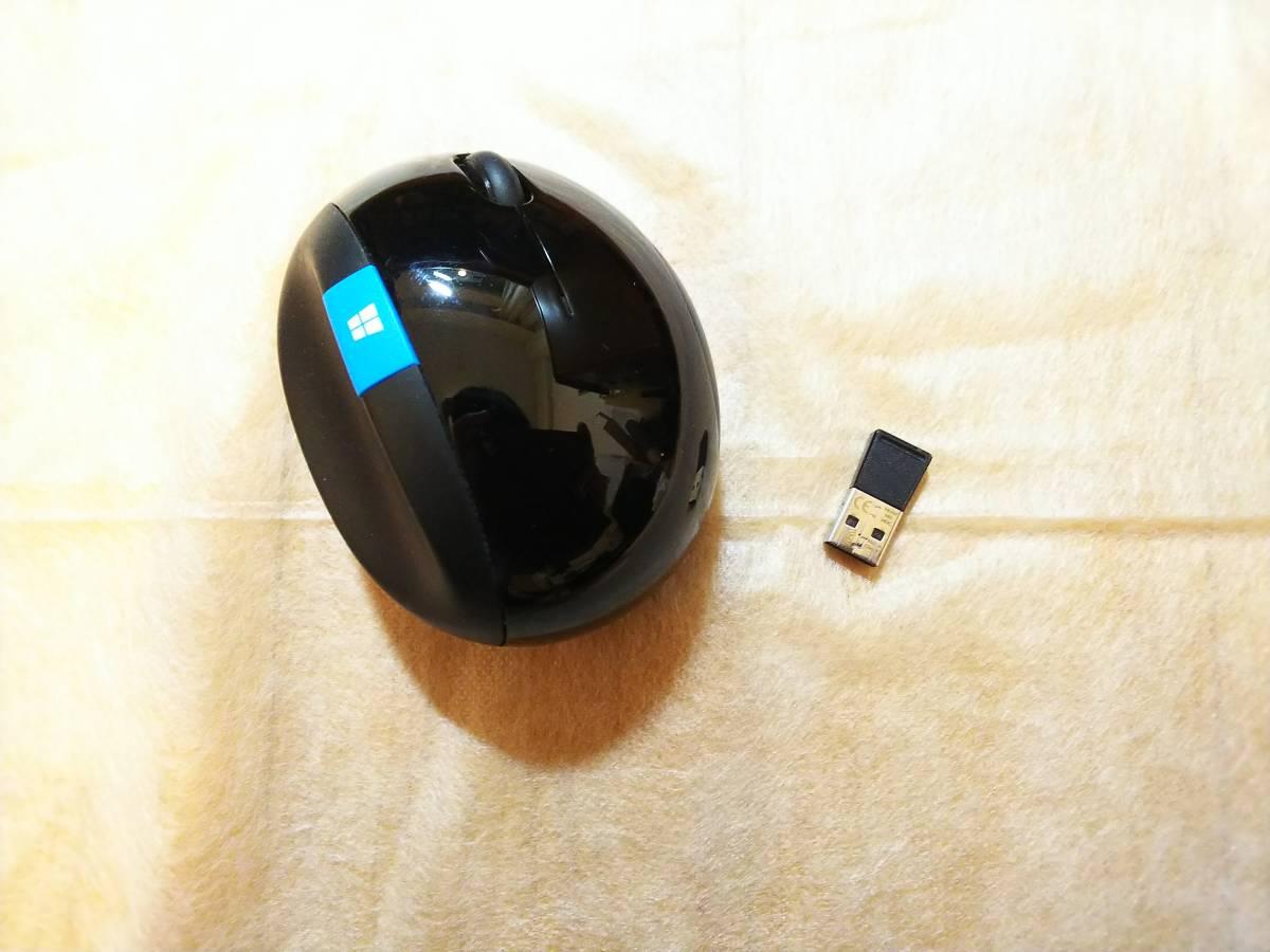 【未使用】マイクロソフト ワイヤレス マウス 人間工学 高精細読み取りセンサー Sculpt Ergonomic Mouse (ブルートラック) +テンキー