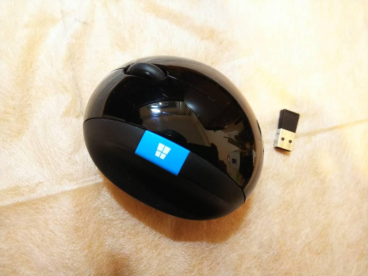 【未使用】マイクロソフト ワイヤレス マウス 人間工学 高精細読み取りセンサー Sculpt Ergonomic Mouse (ブルートラック) +テンキー_画像2