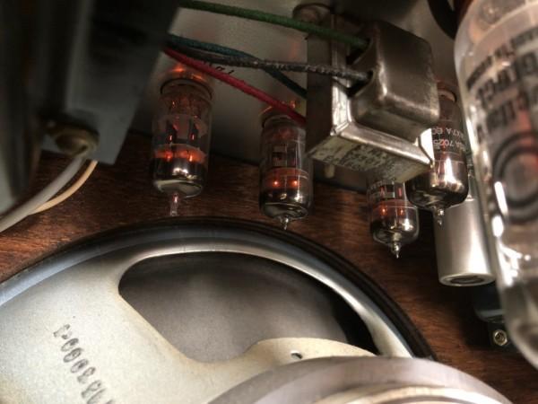 貴重!! 動作良好 MESA BOOGIE MARK1 REISSUE マーク1 100/60W 真空管ギターコンボアンプ ハードウッド仕様 MARKI メサブギー 中古_画像7