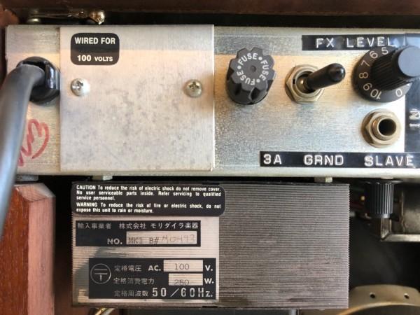 貴重!! 動作良好 MESA BOOGIE MARK1 REISSUE マーク1 100/60W 真空管ギターコンボアンプ ハードウッド仕様 MARKI メサブギー 中古_画像5