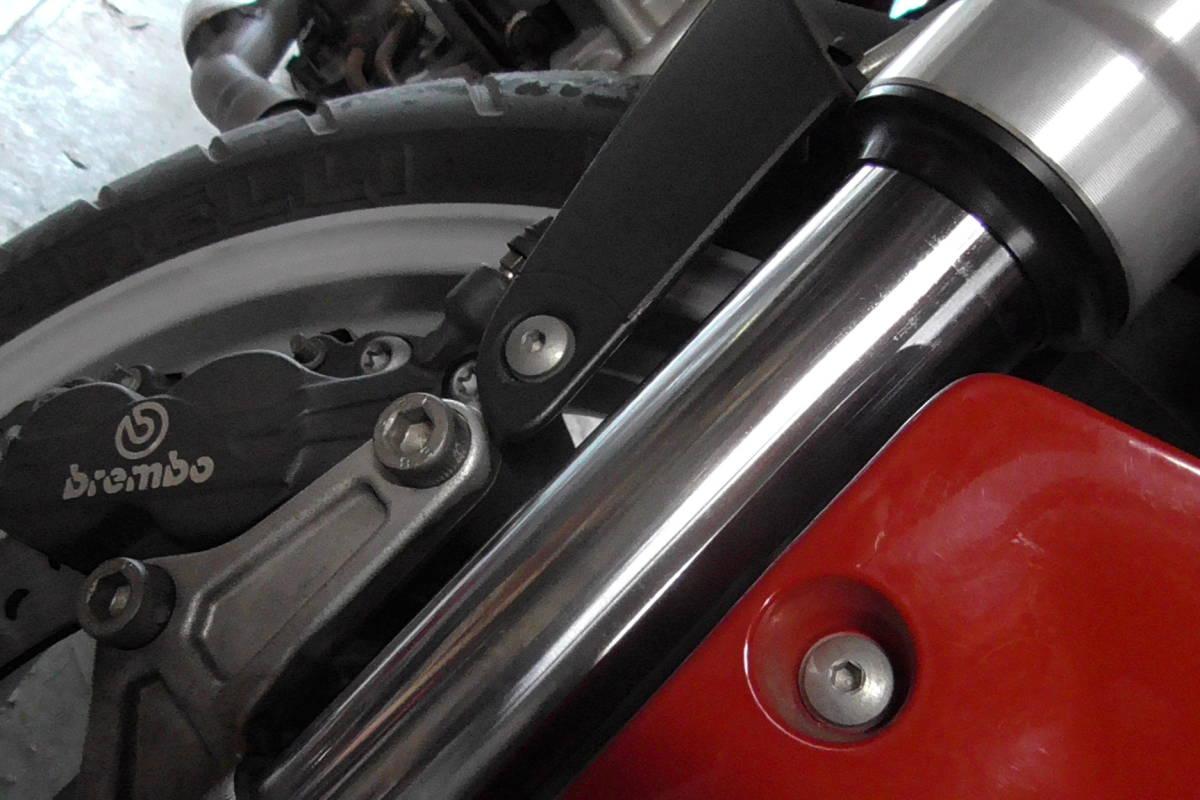 ドカティ ムルティストラーダ 1000DS エンジン不動です。 _画像4