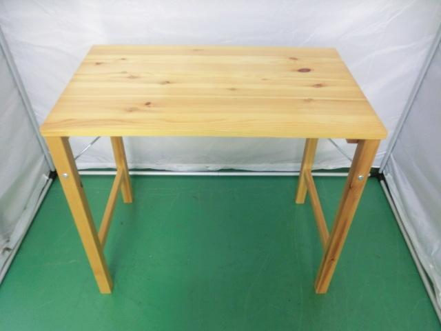 【無印・良品計画 パイン材 テーブル 折り畳み式】テーブル インテリア おしゃれ シンプ